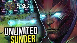UNLIMITED SUNDER - Miracle Terrorblade 5 Sec Sunder Talent 7.07 Comeback | Dota 2