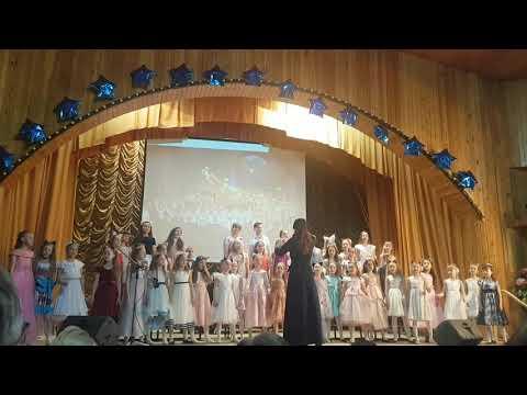 """17.05.19. Песня """"Большой хоровод"""" Отчетный концерт ЦДШИ 1 г.Кемерово!"""
