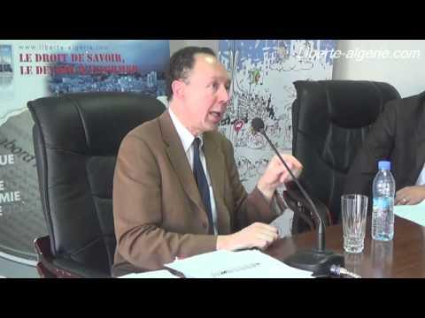 """Francis Perrin, Expert pétrolier au forum de """"Liberté"""" (Extraits)"""