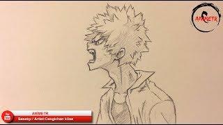 Katsuki Bakugou Çizimi / Drawing - Boku no Hero Academia