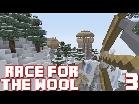 Minecraft Xbox - Race For The Wool - Hello? Blue Wool? [3]