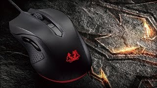 Unboxing ASUS Cerberus mouse gaming