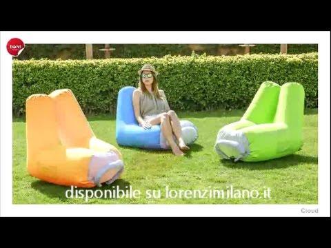 poltrona gonfiabile lorenzimilano youtube