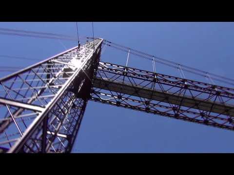 Puente Colgante de Vizcaya - Vizcaya Bridge (Portugalete-Getxo) - Full HD - World Heritage Site