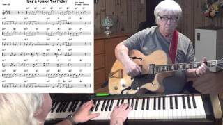 She's Funny That Way - Jazz guitar & piano cover ( Neil Moret & Richard A. Whiting )