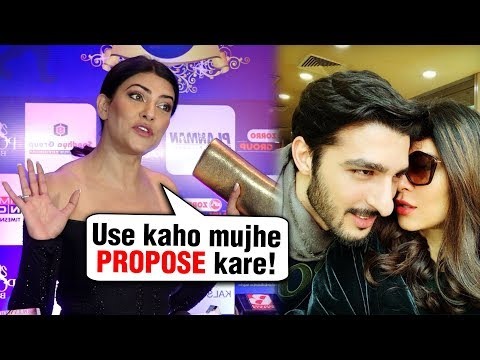 Sushmita Sen Wants Rohman Shawl To Ask Her For Marriage