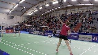 Finale des championnats de France de badminton 2019 à Saint-Dié-des-Vosges