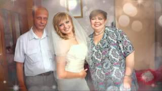 Дорогим и любимым родителям на годовщину серебряной свадьбы