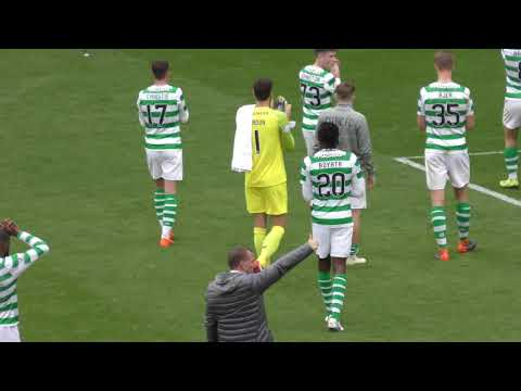 Celtic 1 - Hamilton Accies 0 - Green Brigade Boyata Banner & Post-Match Reaction - 26 August 2018