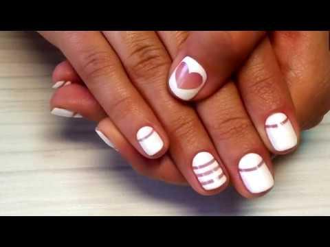 Naildesign tutorial mit herz ❤❤❤ Beauty Tipps