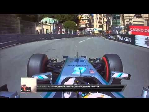 F1 2014 - Monaco Rosberg mistake analysis