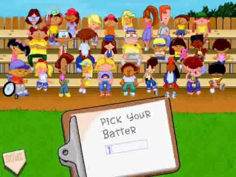 backyard baseball menu 2 pick your characters theme youtube