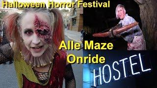Halloween Horror Festival 2018 - Alle Maze onride – kompletter Durchlauf – Movie Park Halloween