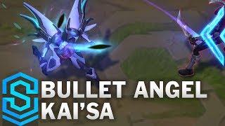 Bullet Angel Kai'Sa Skin Spotlight - League of Legends