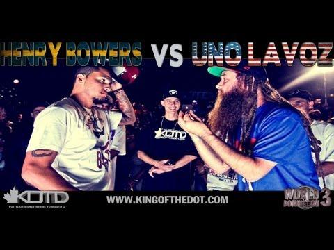 KOTD - Rap Battle - Henry Bowers vs Uno Lavoz   #WD3