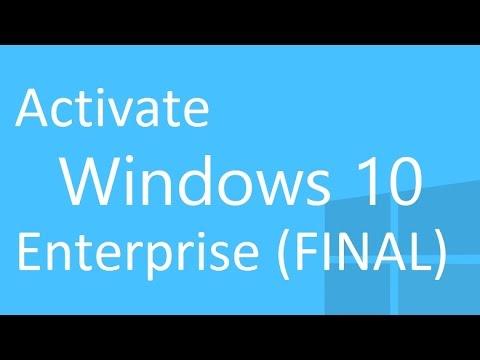activator win 10 enterprise