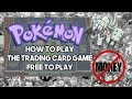 How to Play the Pokemon Trading Card Game FREE TO PLAY│Episode 1