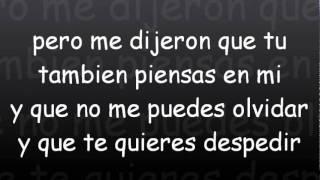 Plan B - Te Dijeron (Con Letra) (Prod. By Luny Tunes Y Predikador) †Reggaeton 2011†
