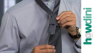 How to tie a tie (four-in-hand knot) - GQ
