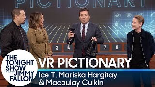 Virtual Reality Pictionary with Ice T, Mariska Hargitay and Macaulay Culkin