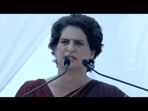 'Talk about India, not Pakistan,' Priyanka Gandhi slams BJP's poll campaign