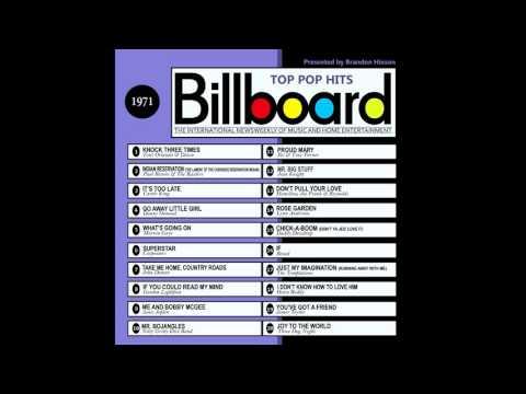 Billboard Top Pop Hits - 1971