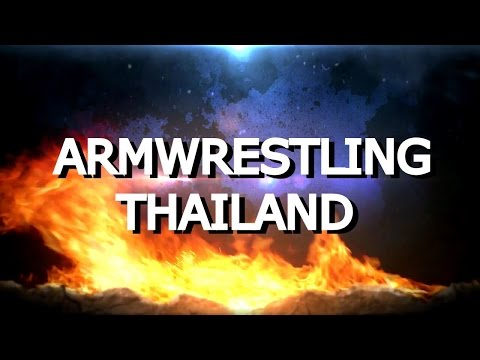 Armwrestling thailand (abstract khonkaen)