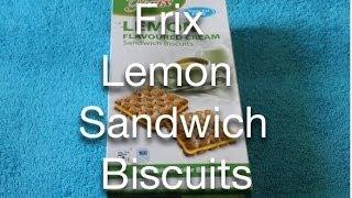 Frix Lemon Sandwich Biscuits