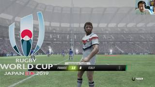 Rugby Challenge 3 [MyPlayer]Coupe du monde : Tonga et Italie