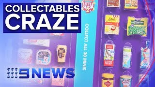Battle between Coles and Woolworths reignited with new mini collectables | Nine News Australia