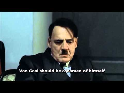 Hitler finds out Man United lost to Leicester