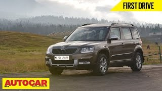 2014 Skoda Yeti Facelift | First Drive Video Review | Autocar India