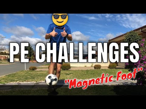 """Magnetic Foot Challenge"" 