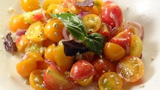 Garden Tomato Onion Salad  (TOS) Recipe
