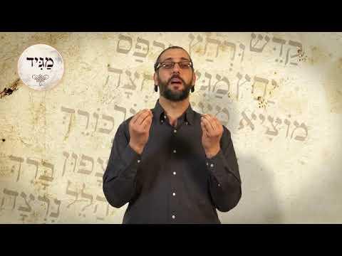 מה עניין הסימן מגיד | הרב אורן אלעד