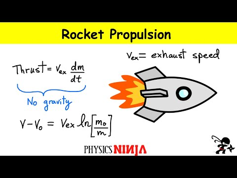 Rocket Thrust And Speed Calculation Youtube