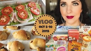 Honeybee Vlog Cam: Oven Pesto Chicken & Pumpkin Pie Roll-ups Recipe!