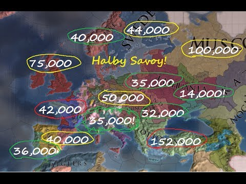 EU4 Savoy Part 27 : Spain scares me, let's beat up france.
