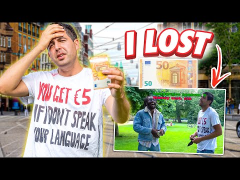 I Lost €50 Not Speaking These Languages (multilingual Bet)