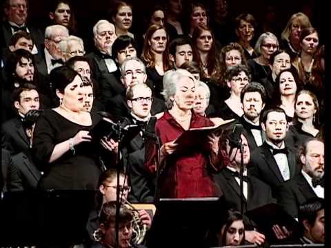 Bruckner - Te Deum and Rossini-Stabat Mater