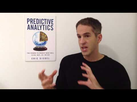 Eric Siegel answers eight questions about predictive analytics