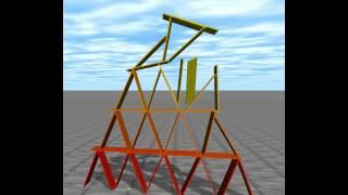 学校の卒論的なやつの予備実験に向けて自作pcでトランプタワー走らせ...