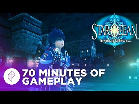 Star Ocean: Integrity and Faithlessness - 70 Minutes of ENGLISH Gameplay