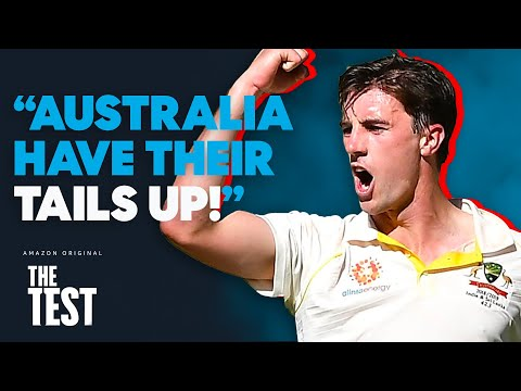 Australia Have a SUPERB Opening Day in the Field Against India