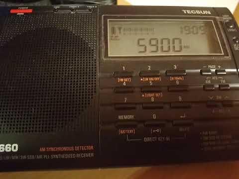 Radio Taiwan International 5900 KHz
