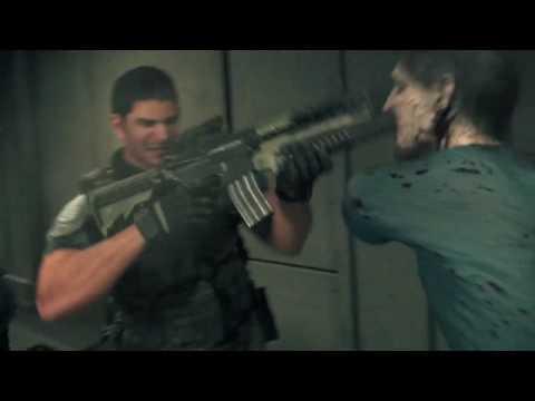 Resident Evil Vendetta Chris Vs Zombies Youtube