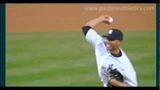 Learn How To Throw Mariano Rivera's Cutter - Slow Motion Close Up Pitching Mechanics Yankees