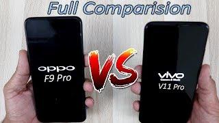 Vivo V11 Pro Vs Oppo F9 Pro Comparision !!  Detail Comparision , HINDI
