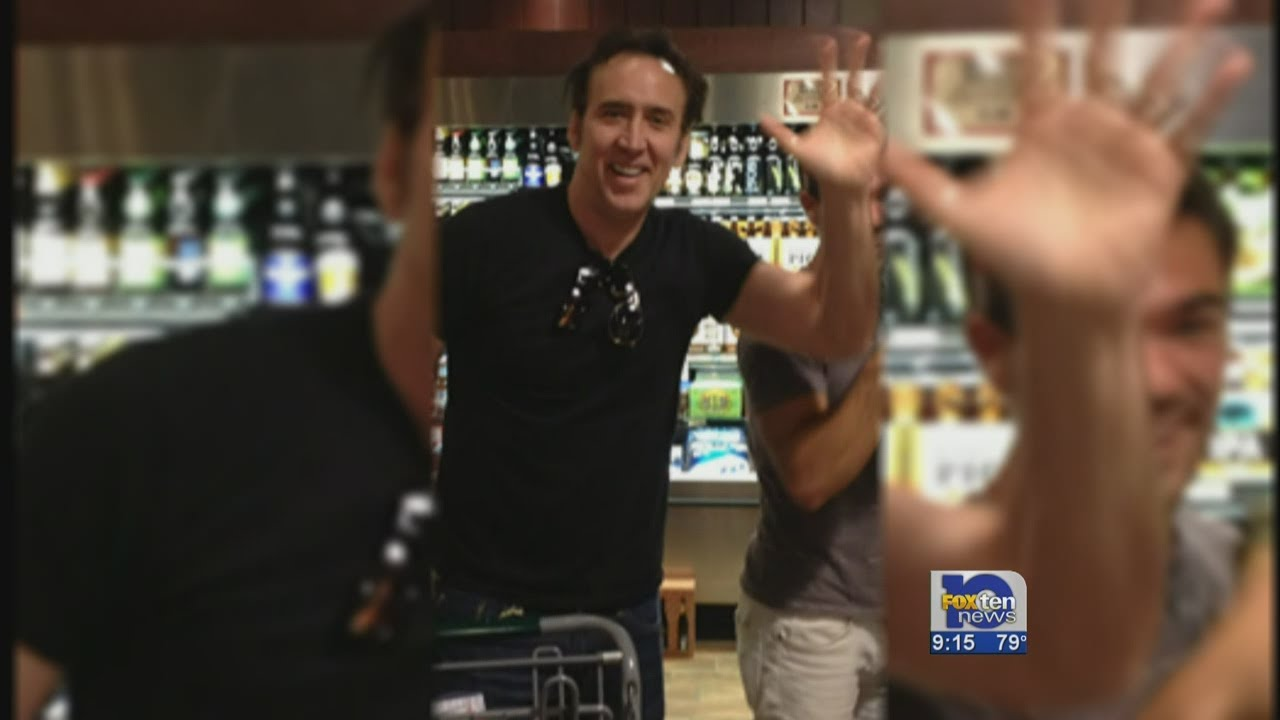 nicolas cage makes movie in mobile youtube