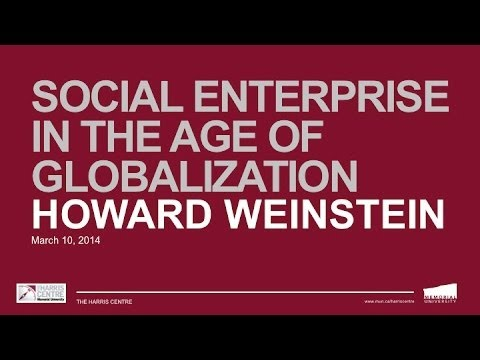 Synergy Session: Social Enterprise in the Age of Globalization with Howard Weinstein